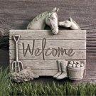 Barnyard Welcome - Green 1258G