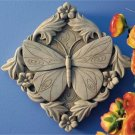 Acanthus Butterfly - Designer White 1102W
