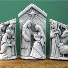 A Stable In Bethlehem - Set - Terra Cotta 1093-SetTC