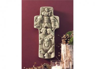 The First Noel Nativity � Designer White 1260W
