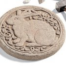 Rabbit Stepping Stone-Round – Terra Cotta 523TC