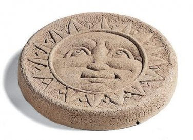 Sun Face Stepping Stone-Round � Natural 524