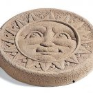 Sun Face Stepping Stone-Round – Green 524G