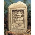Snowman with Snow Bunnies Stone – Natural 545