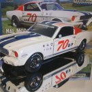LANE EXACT DETAIL 1966 #70 HAL McCARTY 1966 MUSTANG SHELBY GT350 DIECAST MODEL CAR