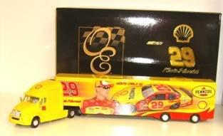 KEVIN HARVICK 2007 SHELL ACTION RCCA ELITE 1:64 HAULER BANK NASCAR DIECAST