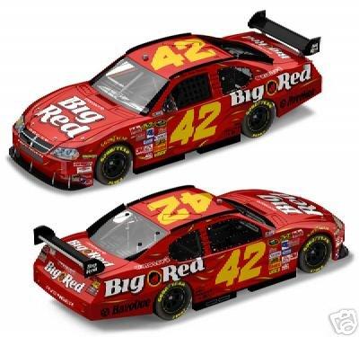 JUAN MONTOYA 2008 BIG RED DODGE CHARGER COT 1/24 ACTION NASCAR DIECAST