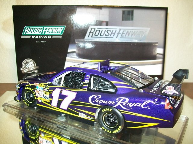 MATT KENSETH 2010 #17 CROWN ROYAL1:24 ACTION NASCAR DIECAST ~ IN STOCK