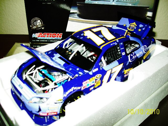 MATT KENSETH 2010 #17 CROWN ROYAL CAMO 1/24 ACTION NASCAR DIECAST ~ IN STOCK