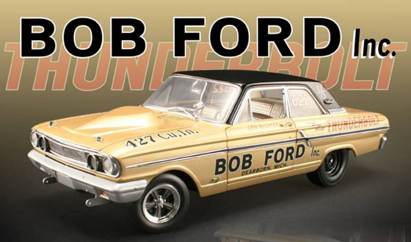 1964 BOB FORD FORD THUNDERBOLT GMP-ACME 1/18 DIECAST #''d CAR 1/1,000 ~ FREE SHIP $8 REBATE