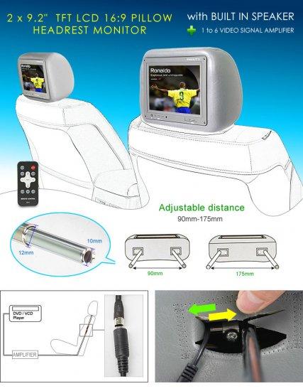 Headrest LCD Monitor