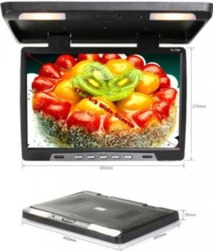 17 inch Car TFT LCD Roof Mount