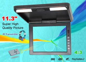 11.3 inch Car TFT LCD Roof Mount