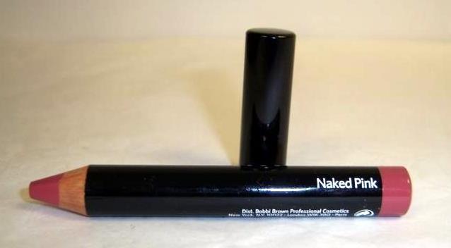 Bobbi Brown LIP CRAYON ~ NAKED PINK ~ Ltd. Ed. Full Size