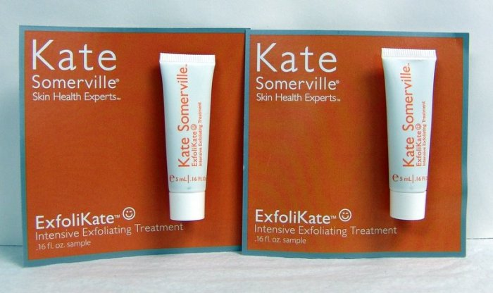 Kate Somerville EXFOLIKATE Intensive Exfoliating TREATMENT ~ Lot of 2