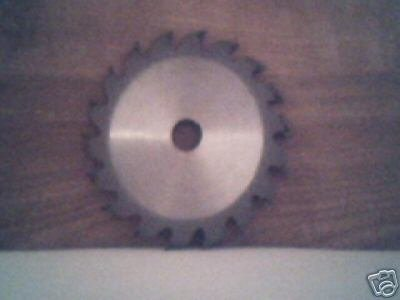 "4-3/8"" size, 18 carbide tooth wood cutting  wheel blade"