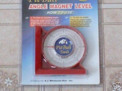 angle finder with magnetic base