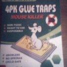 4 pk Glue Traps - Mouse killer