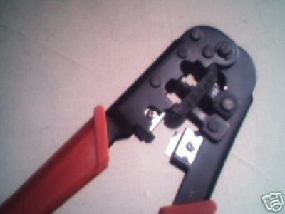 Computer Network & Phone Module Crimping Plier