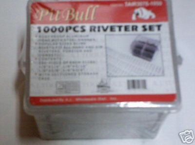 1000 pc RIVET ASSORTMENT