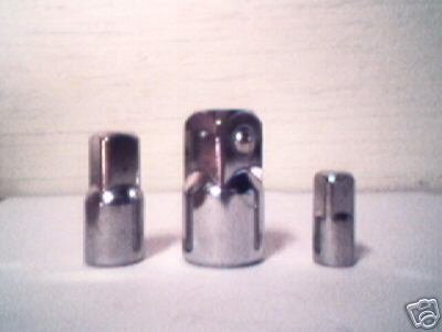 3 pc  SOCKET ADAPTER