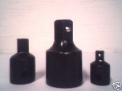 3 pc  REDUCER SOCKET ADAPTER