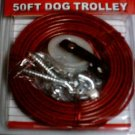 50 ft dog trolley