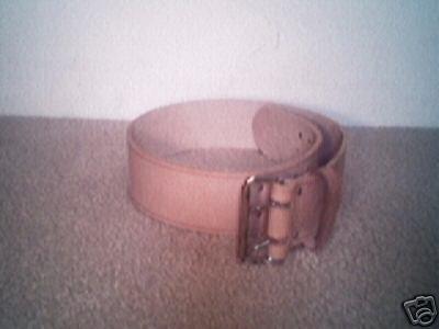 """3"""" Genuine Leather Tool Belt"""