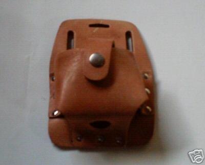 Genuine Leather Tape Measure Holder