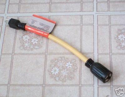 Female Twist Lock Extension Cord w/ male plug