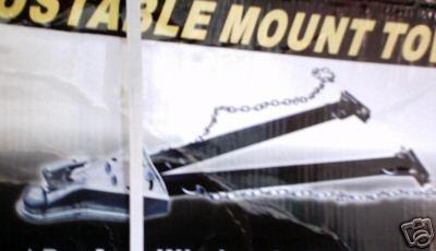adjustable mount tow bar