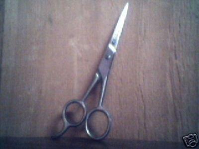 """Hair Shears Scissors -- 5""""x1/2"""""""