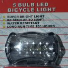 led bulb bicycle back light - clear
