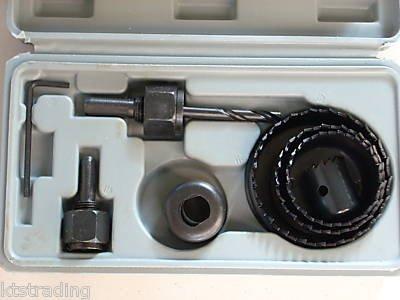 11 pcs hole saw kit