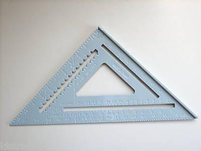 12 inches ALUMINUM LARGE SQUARE