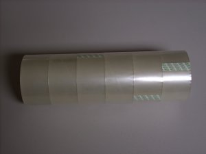 """6 ROLLS OF CLEAR PACKING TAPE 2"""" x 55 yards"""