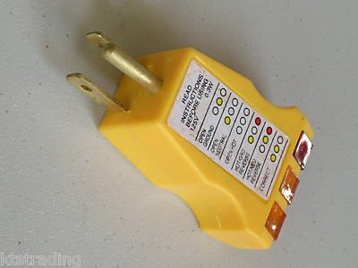 ELECTRICAL RECEPTACLE OUTLET TESTER