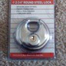 "2-3/4"" ROUND SECURITY PADLOCK"