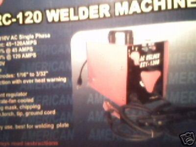 ARC-120 WELDER MACHINE
