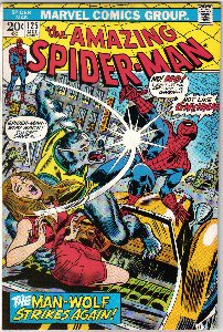Amazing Spider-Man #125 Comic Book