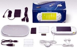 Sony PSP Giga Pack (Ceramic White)