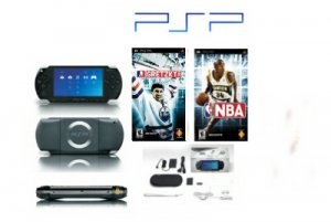 PSP Sports Bundle - 2 Games + Extra Accessories