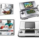 Nintendo DS Dual Screen Handheld Video Game System + Madden NFL 2006