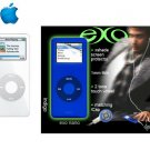 Ipod Nano 1GB White - 240 Songs in Your Pocket + Exo Nano Combo