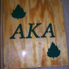 Fraternity / Sorority Scrapbook with Wood Pages