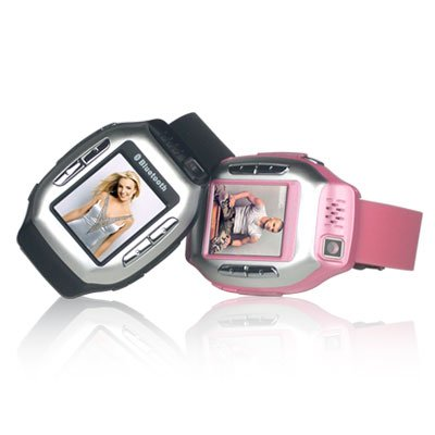 Wrist Watch Mobile Phone - Tri-band Camera Phone CECT C506