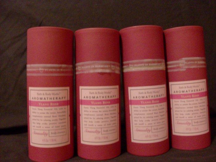 Bath and Body Works Ylang Rose Aromatherapy Body Spray