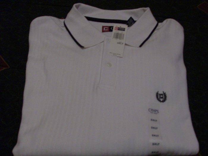NWT Chaps Golf Polo Shirt 3X Big & Tall Ralph Lauren
