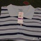 NWT Chaps Blue Golf Polo Shirt Size 2X Ralph Lauren XX
