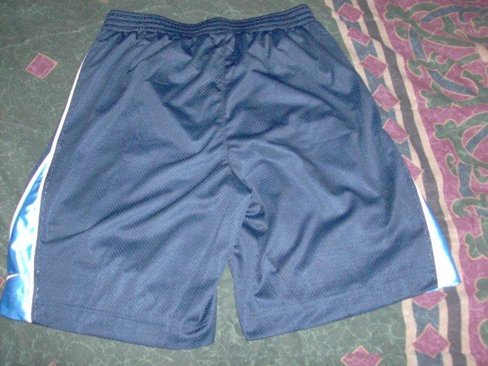 NWT Nike Mesh Blue Drawstring Training Shorts XL / 34